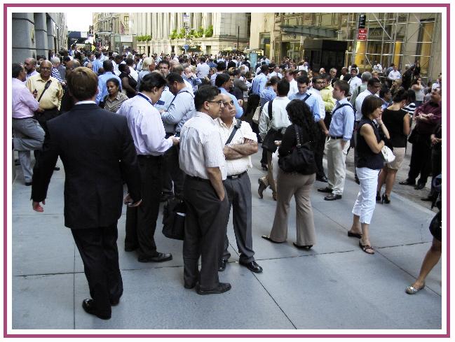 Wall Street Burgundy Frame